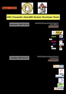 GNU Classpath+OpenJDK DevJam Developer Room